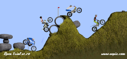 Open trial, the motorbike trial game, riders clothing